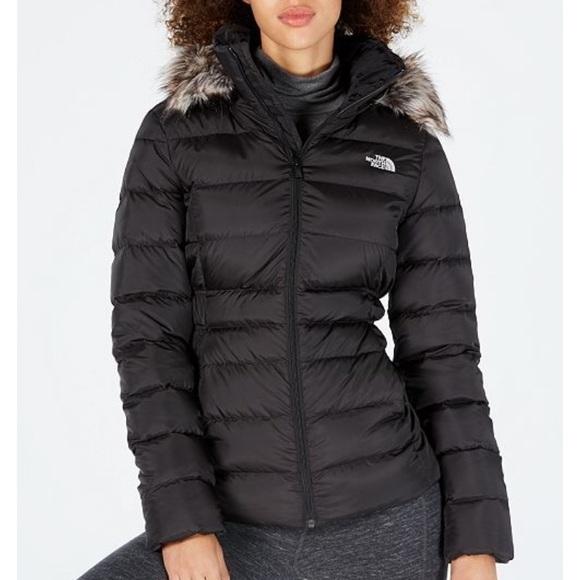 2e8ecf354 The North Face Gotham Faux-Fur-Trim Hooded Jacket